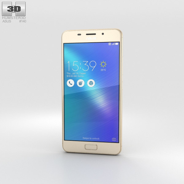 Asus Zenfone 3s Max Gold 3D model
