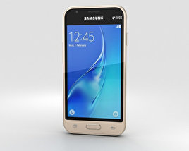 Samsung Galaxy J1 Nxt Gold 3D model