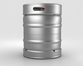 3D model of Beer Keg