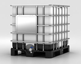 3D model of IBC Container