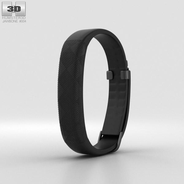 Jawbone UP2 Black Diamond Classic Flat Strap 3D model