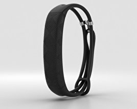 3D model of Jawbone UP2 Black Diamond Lightweight Thin Straps