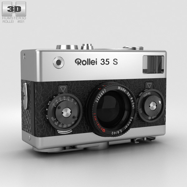 Rollei 35 S 3D model