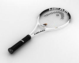 3D model of Tennis Racquet