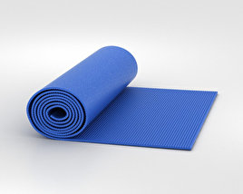 3D model of Yoga Mat