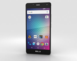 3D model of BLU R1 HD Midnight Black