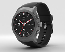 3D model of LG Watch Sport Titanium
