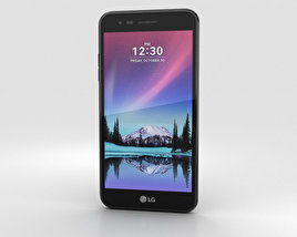 3D model of LG K4 (2017) Black