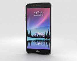 3D model of LG K4 (2017) Gray