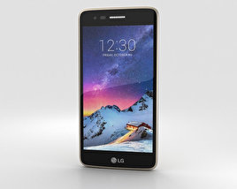 3D model of LG K8 (2017) Gold