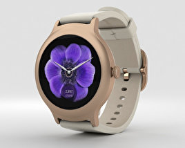 3D model of LG Watch Style Rose Gold