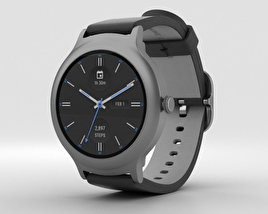 LG Watch Style Titanium 3D model