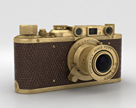 3D model of Leica Luxus II