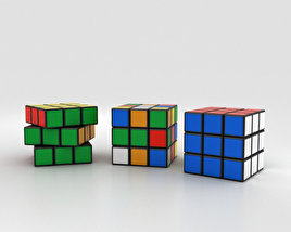 3D model of Rubik's Cube