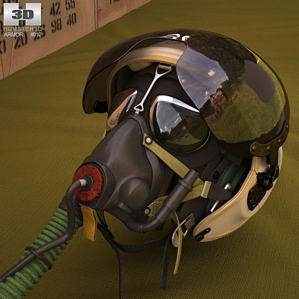 3D model of ZSh-3 Pilot Helmet