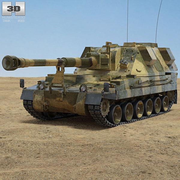 AS-90 3D model