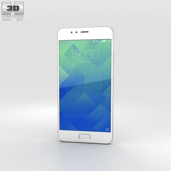Meizu M5s Moonlight Silver 3D model
