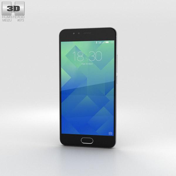 Meizu M5s Stay Gray 3D model