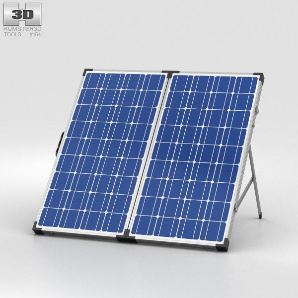Solar Panel 3D model
