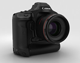 3D model of Canon EOS-1D X Mark II