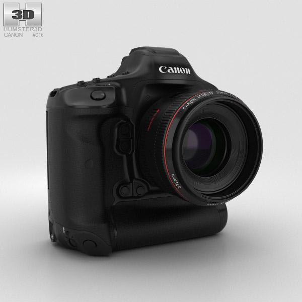 Canon EOS-1D X Mark II 3D model