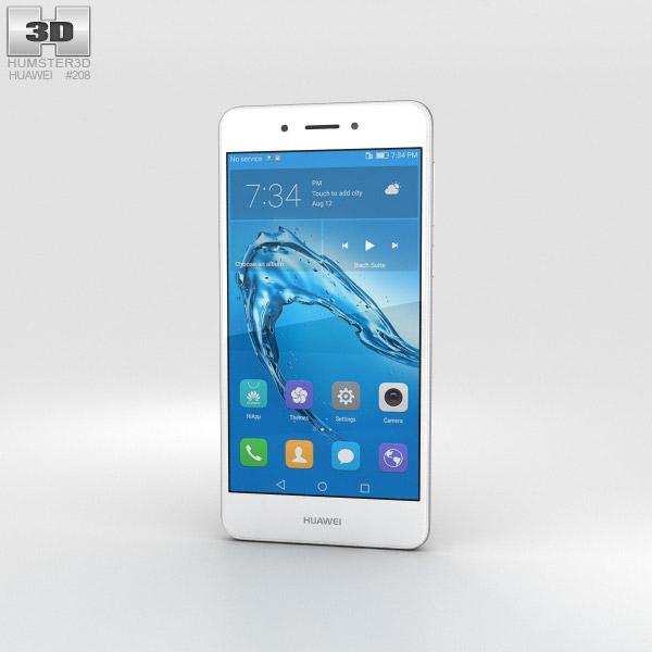 3D model of Huawei Enjoy 6s Silver