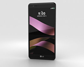 3D model of LG X Style Black