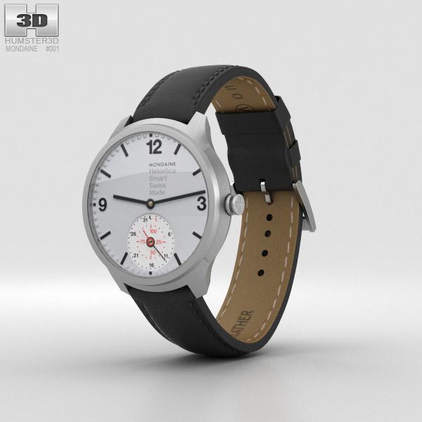 Mondaine Helvetica 1 Smartwatch 3D model