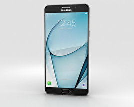 Samsung Galaxy A9 Pro (2016) Black 3D model