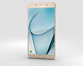 3D model of Samsung Galaxy A9 Pro (2016) Gold