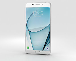 3D model of Samsung Galaxy A9 Pro (2016) White