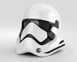 3D model of Stormtrooper Helmet