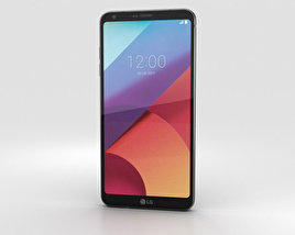 3D model of LG G6 Astro Black