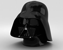 3D model of Darth Vader Helmet