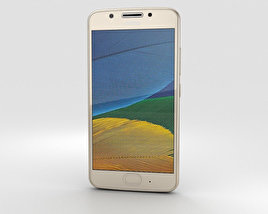 3D model of Motorola Moto G5 Fine Gold
