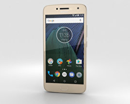 3D model of Motorola Moto G5 Plus Fine Gold