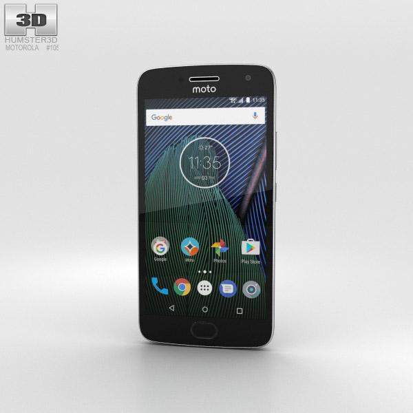 Motorola Moto G5 Plus Lunar Grey 3D model