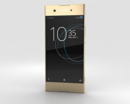 3D model of Sony Xperia XA1 Gold