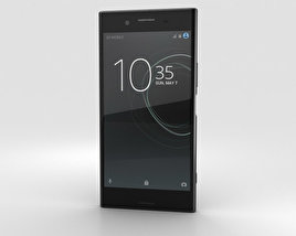 3D model of Sony Xperia XZ Premium Deepsea Black