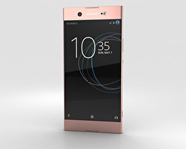 3D model of Sony Xperia XA1 Ultra Pink