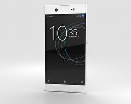 3D model of Sony Xperia XA1 Ultra White