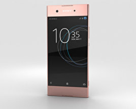 3D model of Sony Xperia XA1 Pink