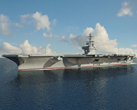 3D model of USS George H. W. Bush (CVN-77)