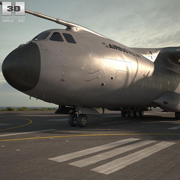 Airbus A400M Atlas 3Dモデル
