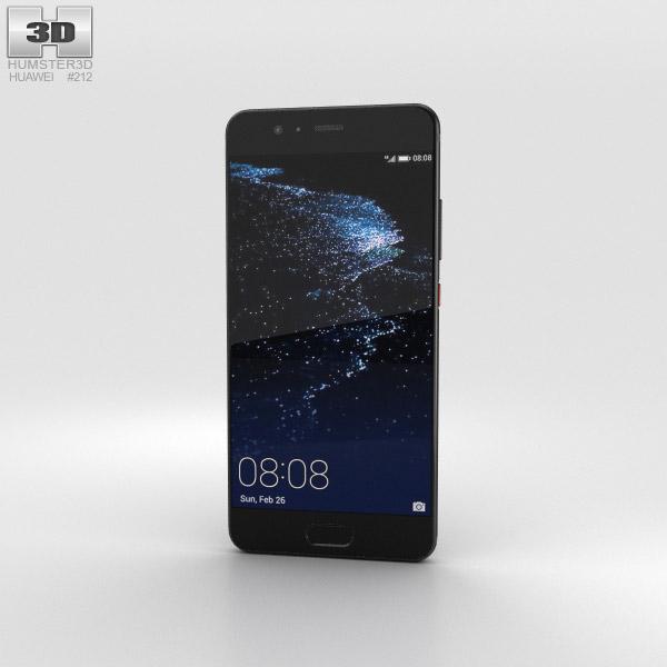 Huawei P10 Graphite Black 3D model