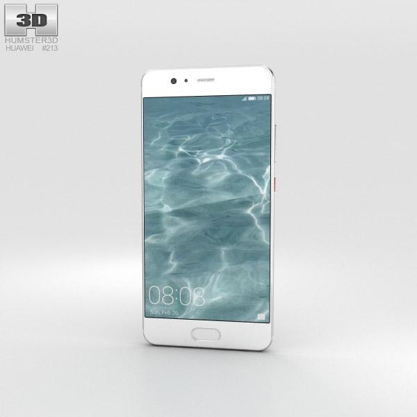 Huawei P10 Mystic Silver 3D model