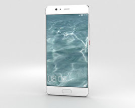 Huawei P10 Plus Mystic Silver 3D model