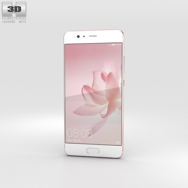Huawei P10 Rose Gold 3D model