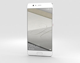 3D model of Huawei P10 Plus Ceramic White