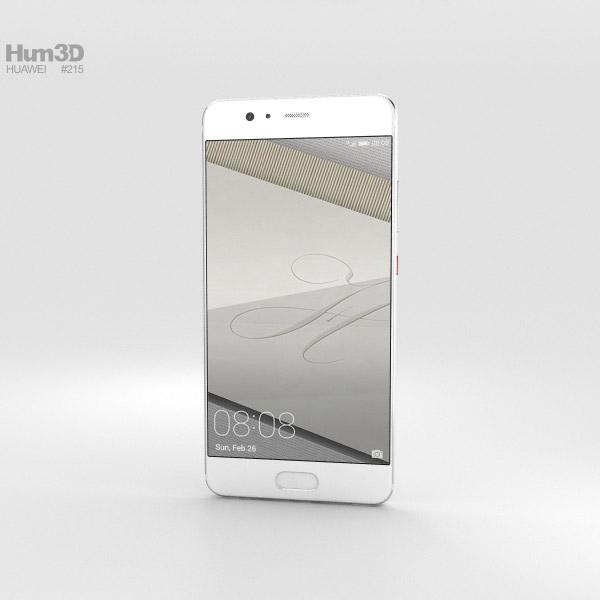 Huawei P10 Plus Ceramic White 3D model